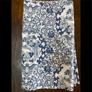Ralph Lauren Valence Cornflower Blue White 18 81